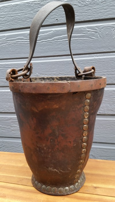18th Century Leather Fire Bucket
